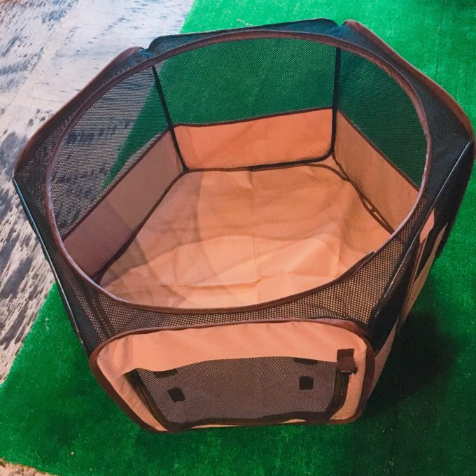 小型犬用折りたたみゲージ【リッチェルたためるペットサークル】