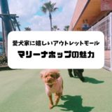 【広島で愛犬とお出かけ・お買いもの】人もペットも楽しめるアウトレットモール「マリーナホップ」