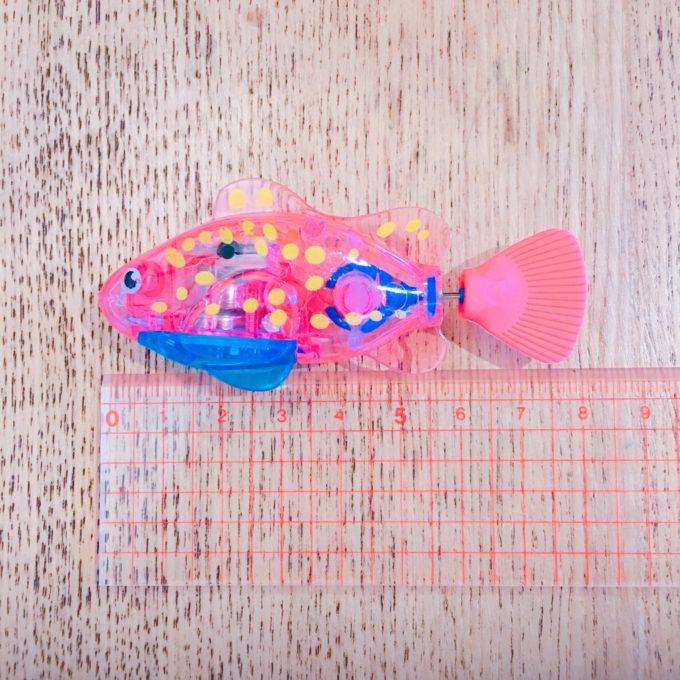 水中で遊べる猫用魚型ロボットおもちゃ