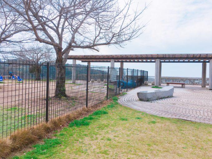 鴻ノ池サービスエリアのドッグラン